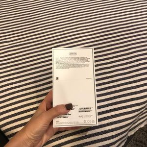 Accessories - iPhone X box